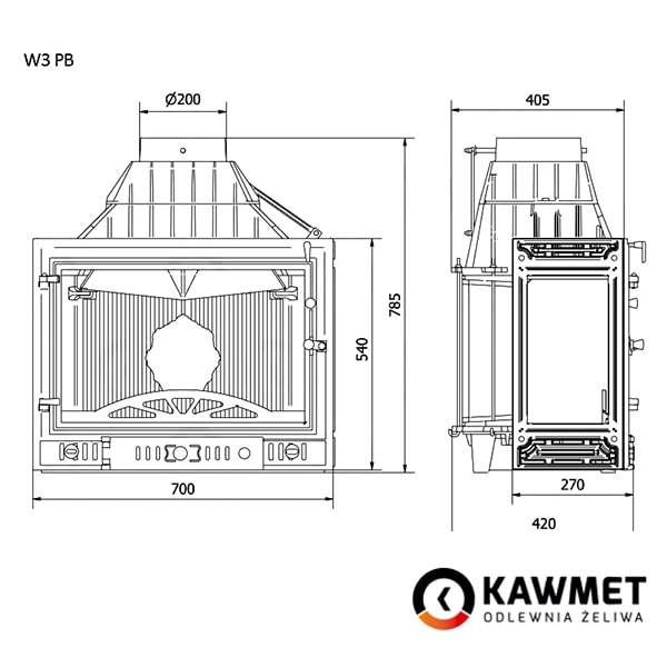 KAWMET W3 с правым боковым стеклом-1